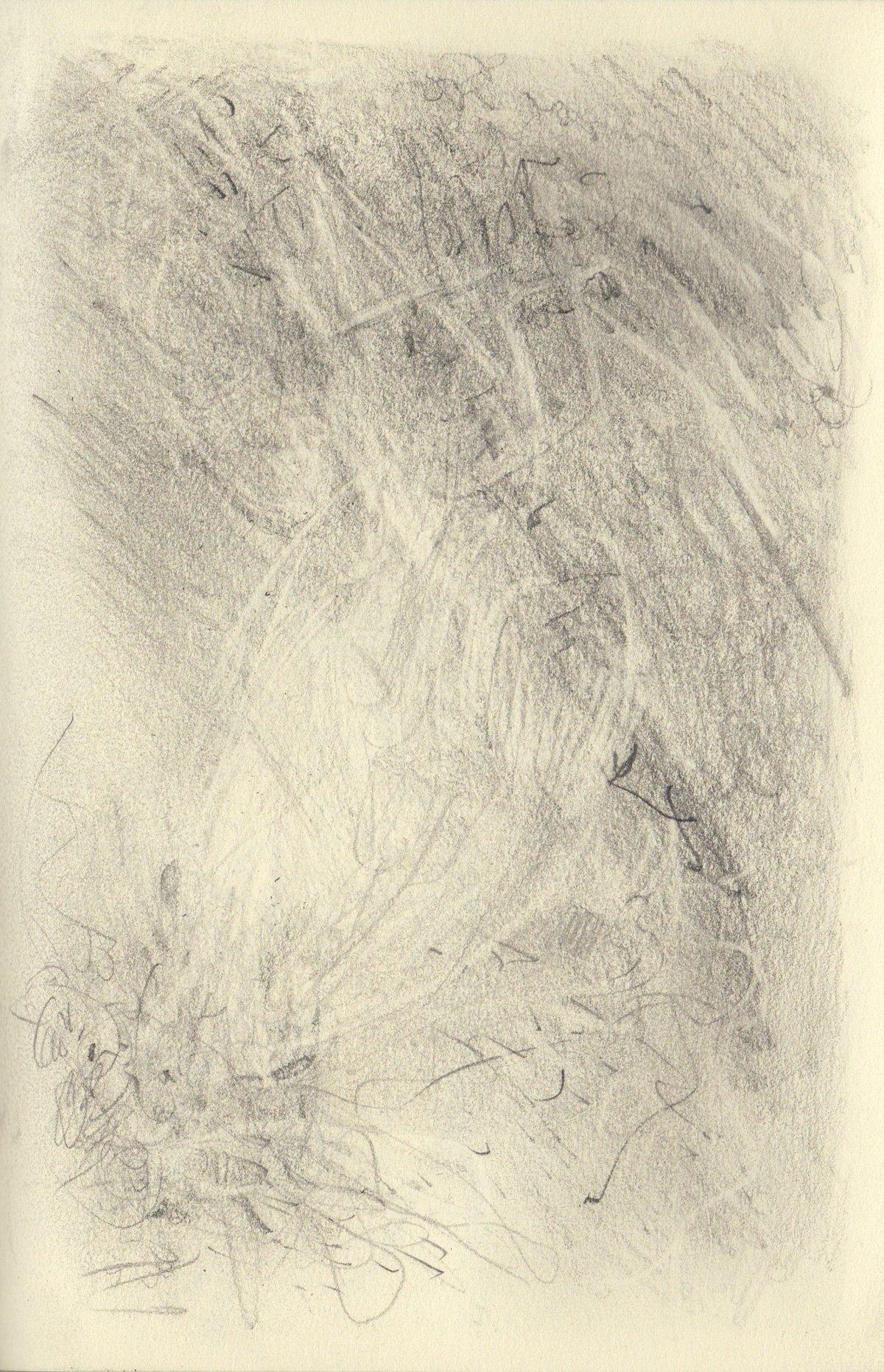 "GAH 5.5 x 8.25"" 2020 Pencil on Sketchbook Pages"